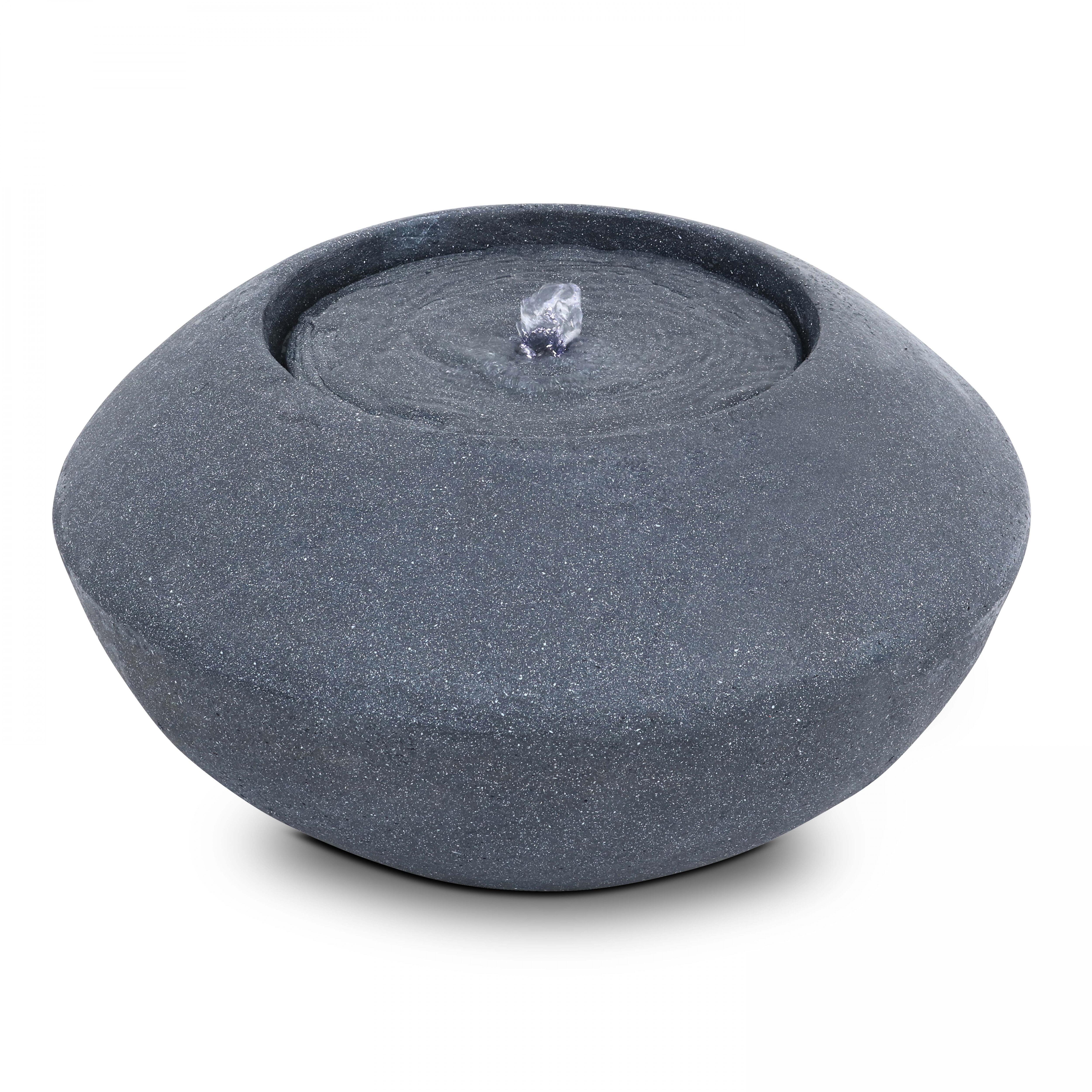 Oviala Fontaine pierre reconstituée gris