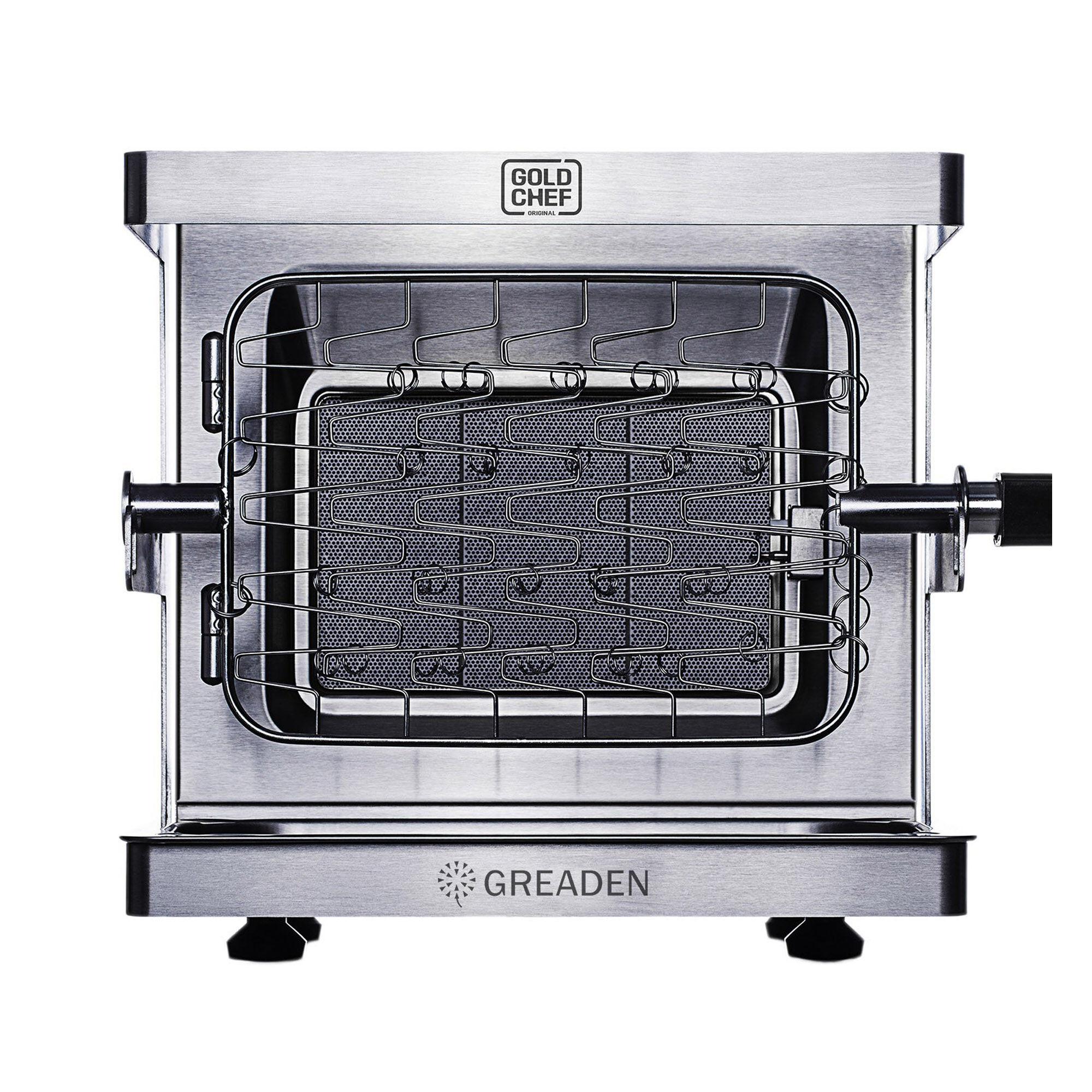 Greaden Barbecue  gaz mobile en acier inox