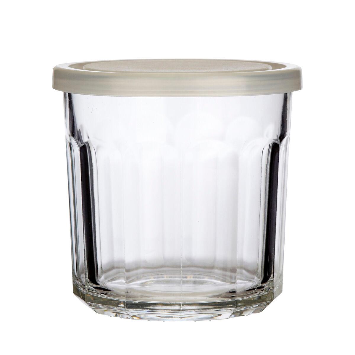 Hubsch Pot de confiture en verre H9