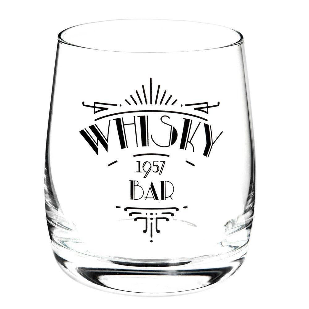 Maisons du Monde Coffret de 6 verres à whisky WHISKY BAR