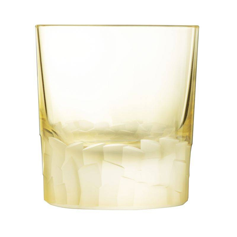 Cristal dArques Gobelet jaune forme basse 32cl - Lot de 6