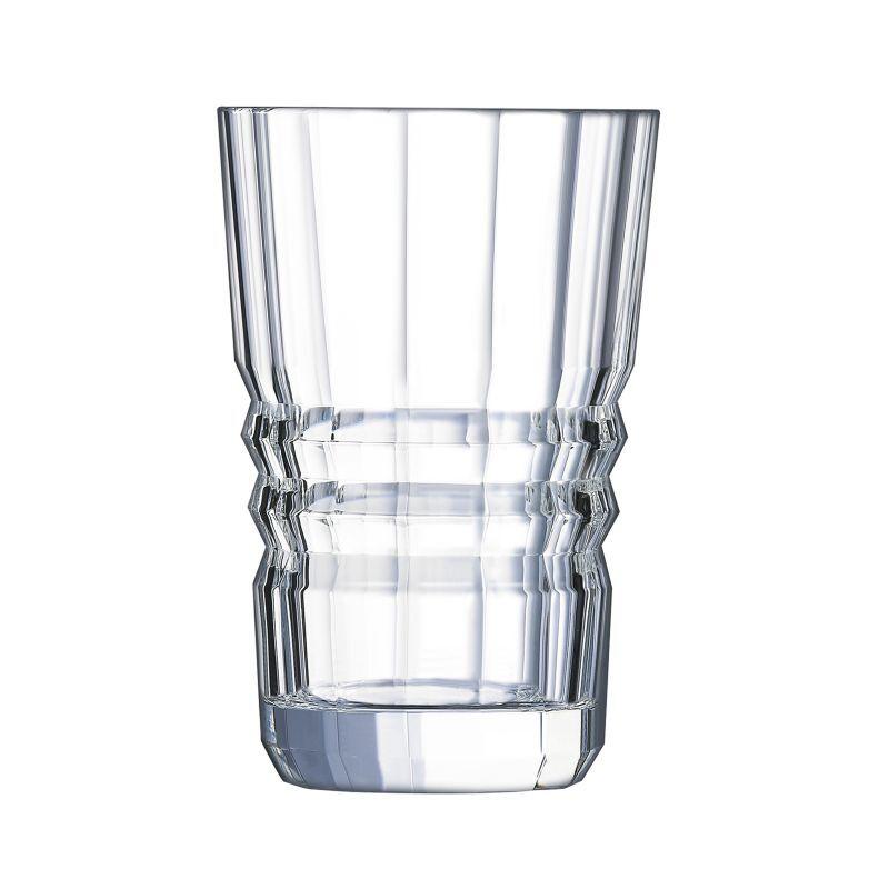 Cristal dArques Gobelet forme haute 36 cl - Lot de 6