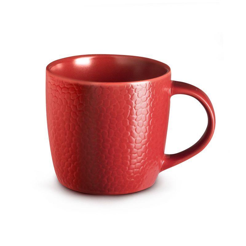 Medard de Noblat Coffret 6 tasses café & thé rouge