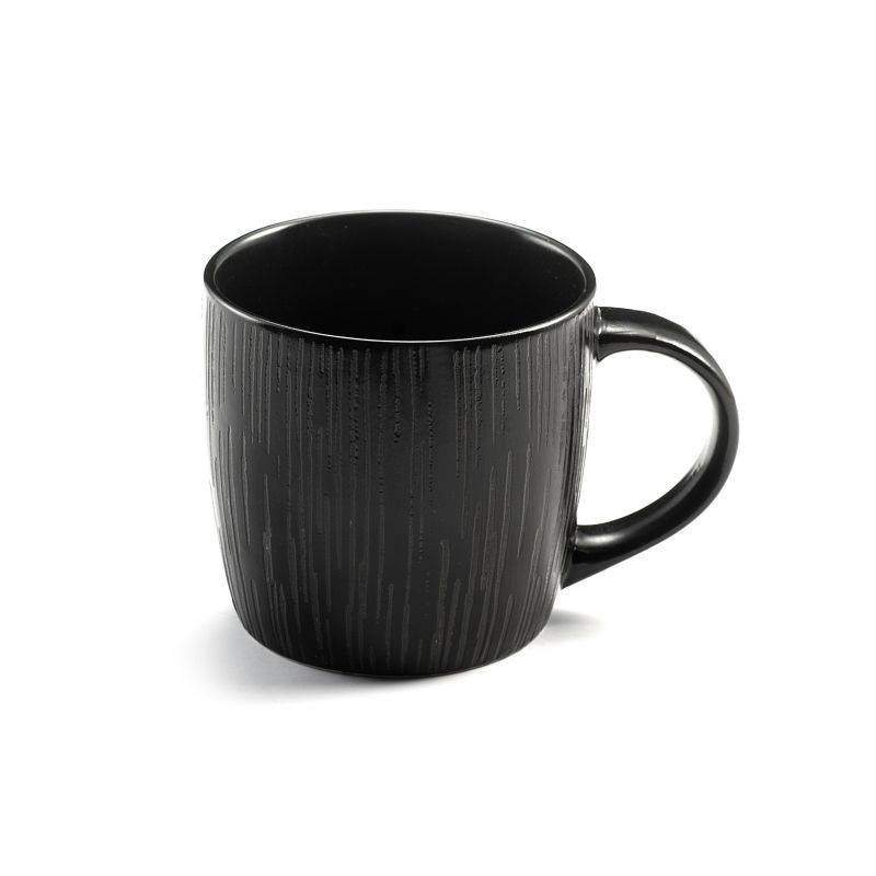 Medard de Noblat Coffret 6 tasses café & thé noires