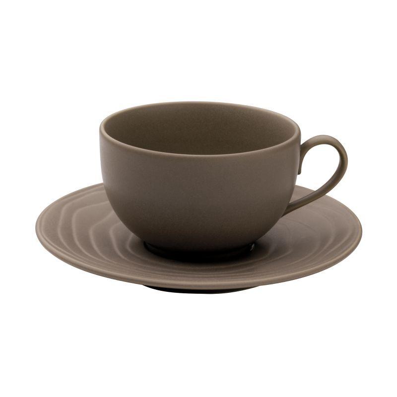 Medard de Noblat Coffret 6 tasses et soucoupes thé