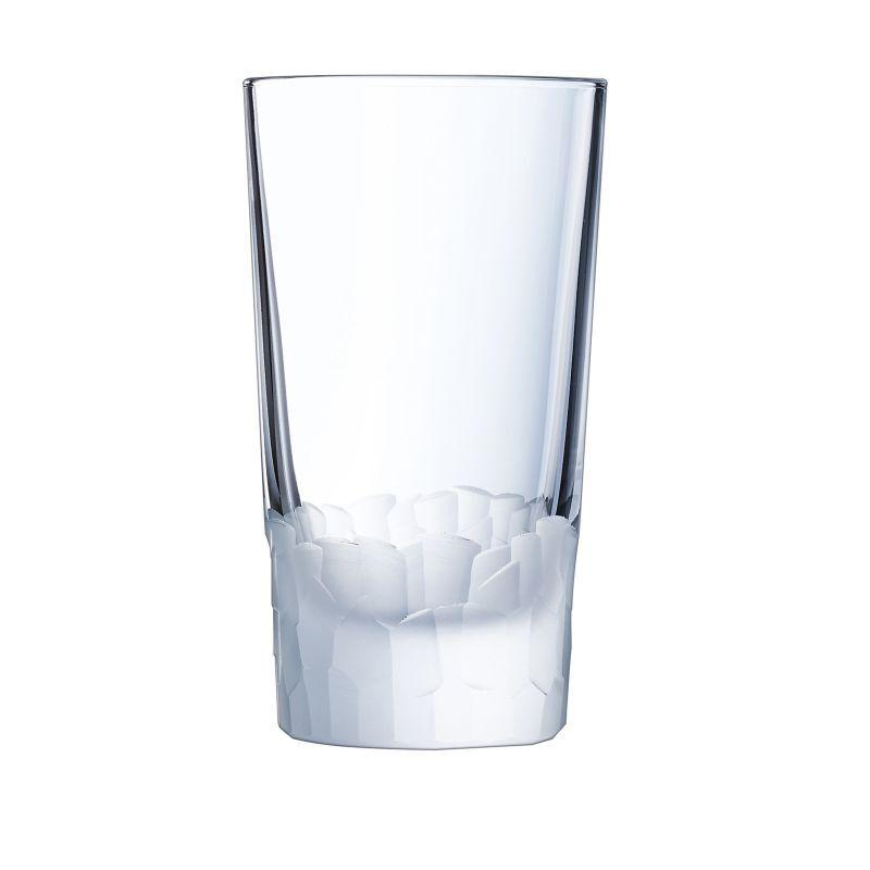 Cristal dArques 6 gobelets forme haute 33 cl