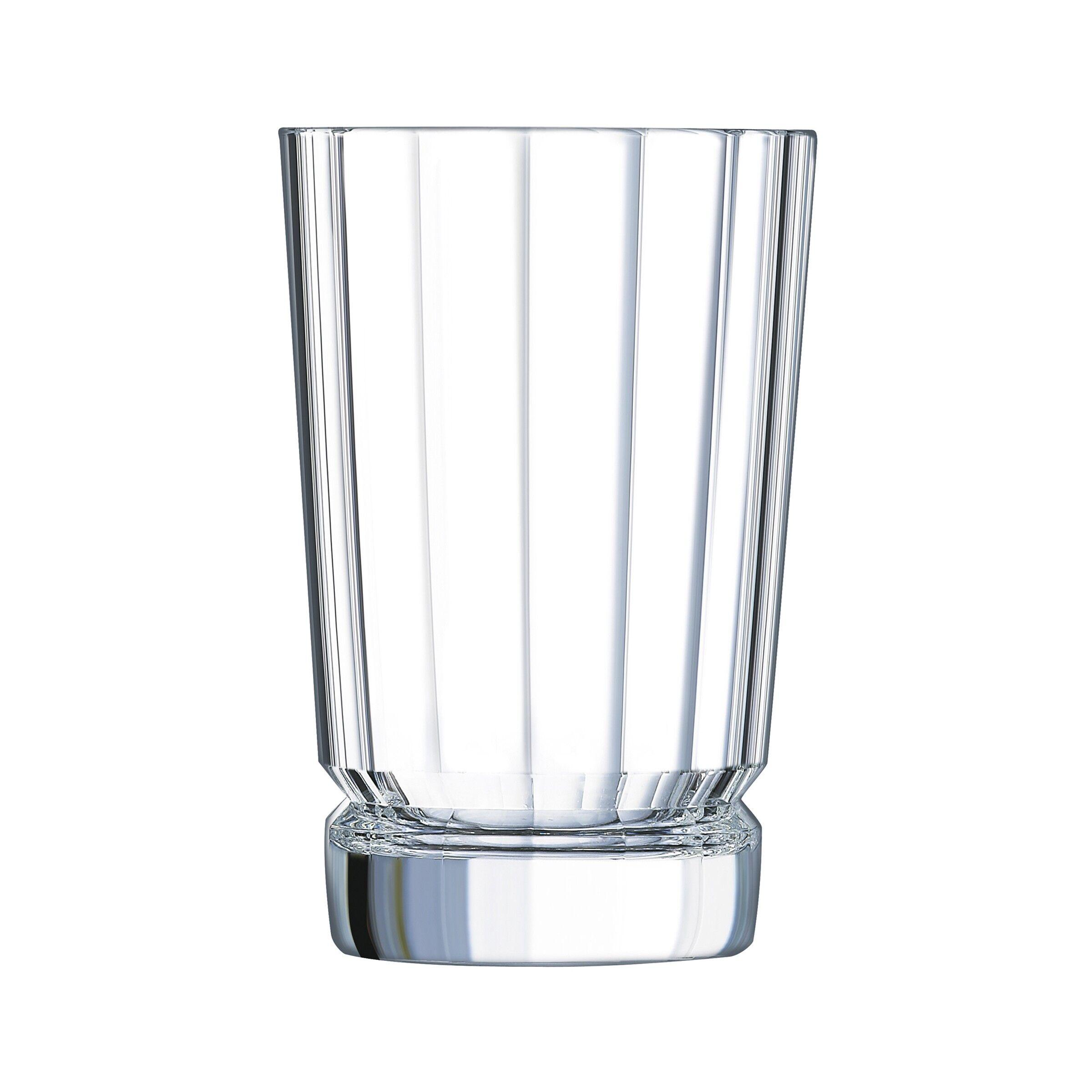 Cristal dArques 6 gobelets forme haute 36 cl