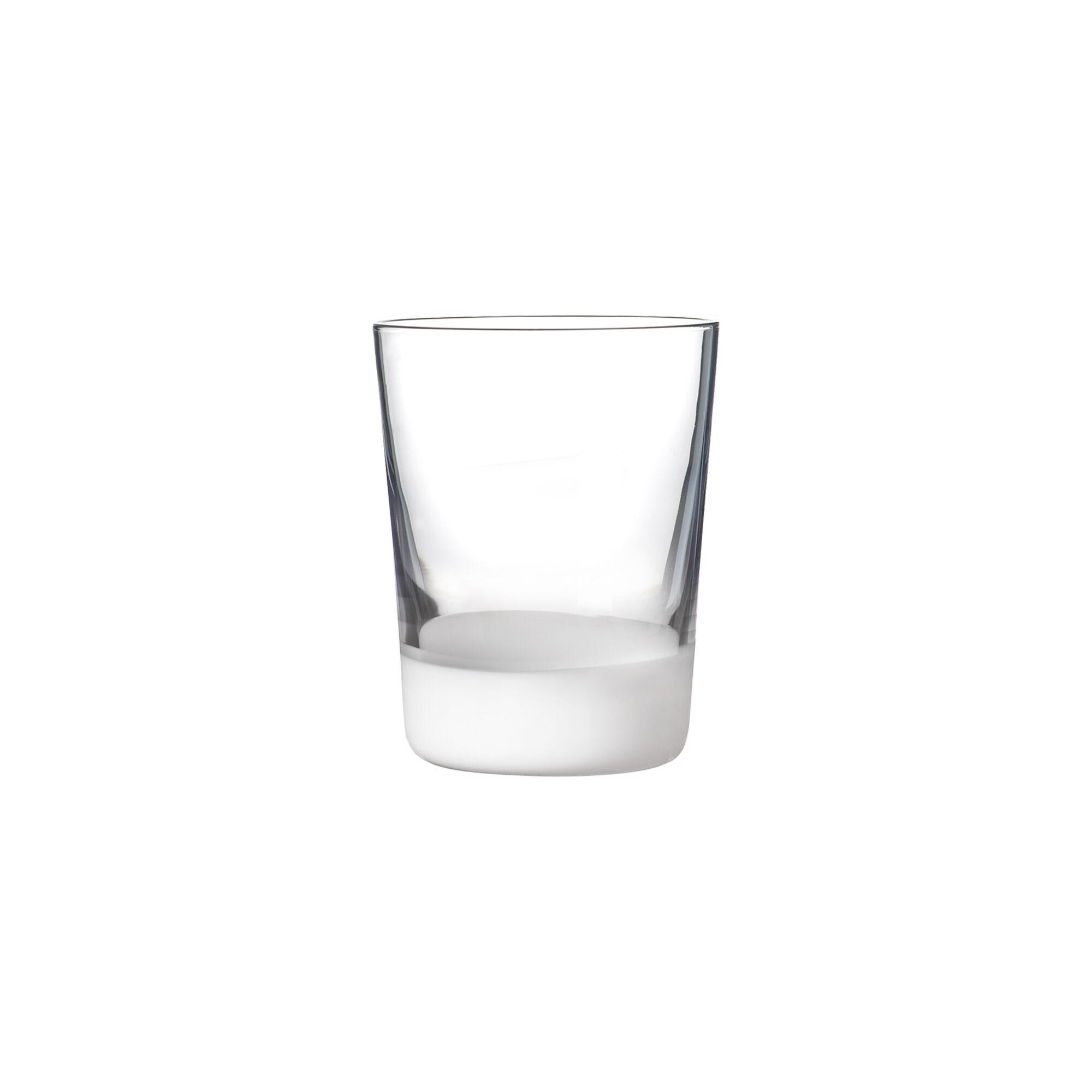 Sibo Homeconcept Gobelet en verre soufflé bouche blanc 39 cl - Lot de 6