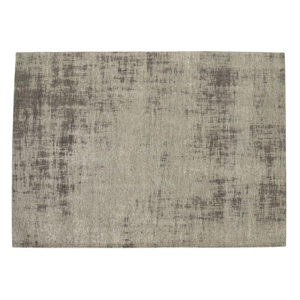Maisons du Monde Tapis en coton gris 140 x 200 cm