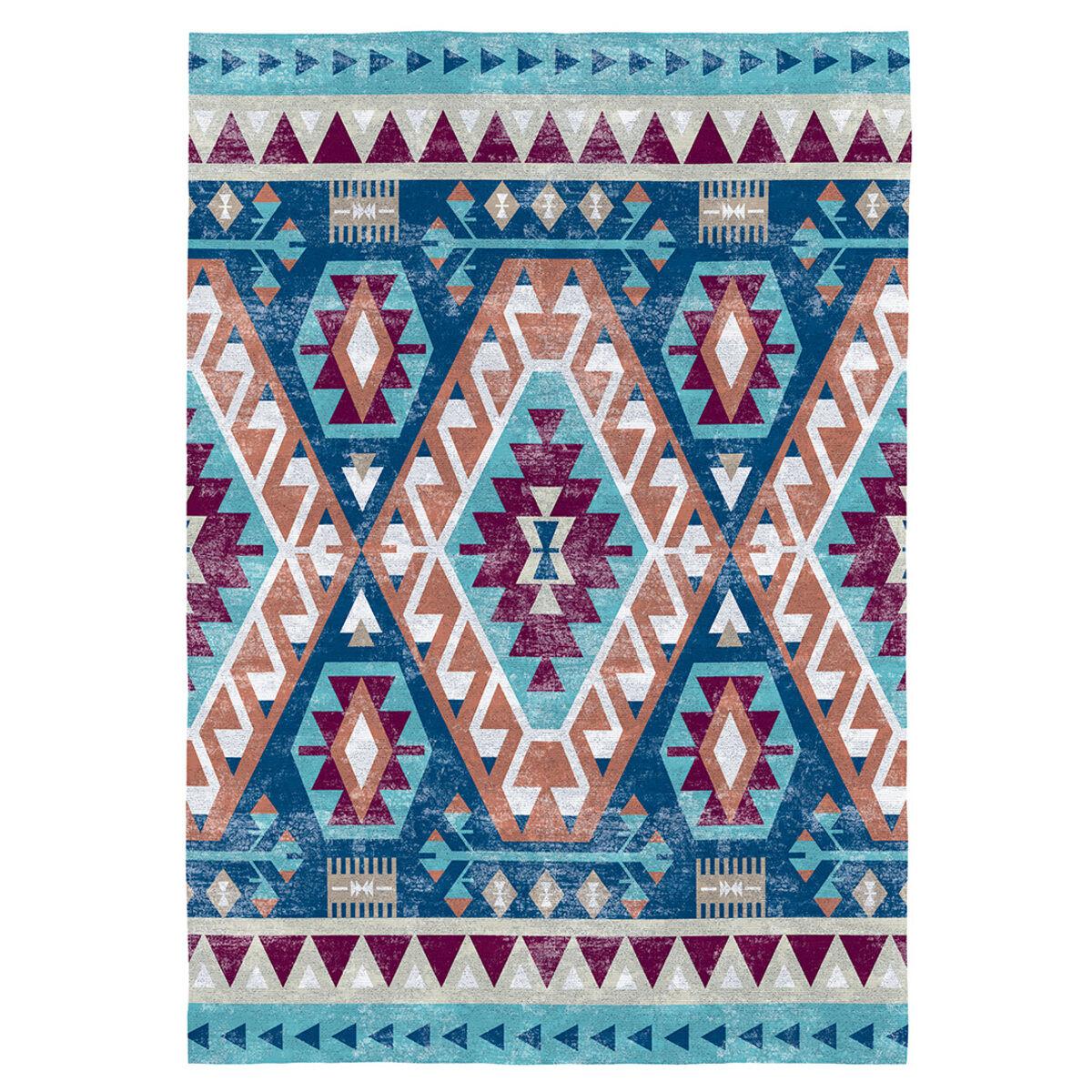 Rugs&Rugs Tapis décoratif en coton en impression numérique 140x200