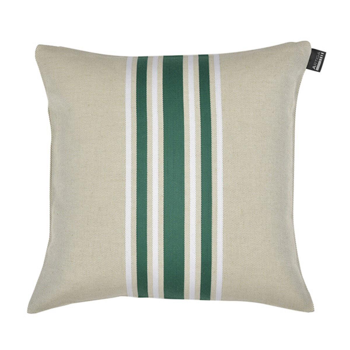 Artiga Coussin carré en coton vert 40x40 cm
