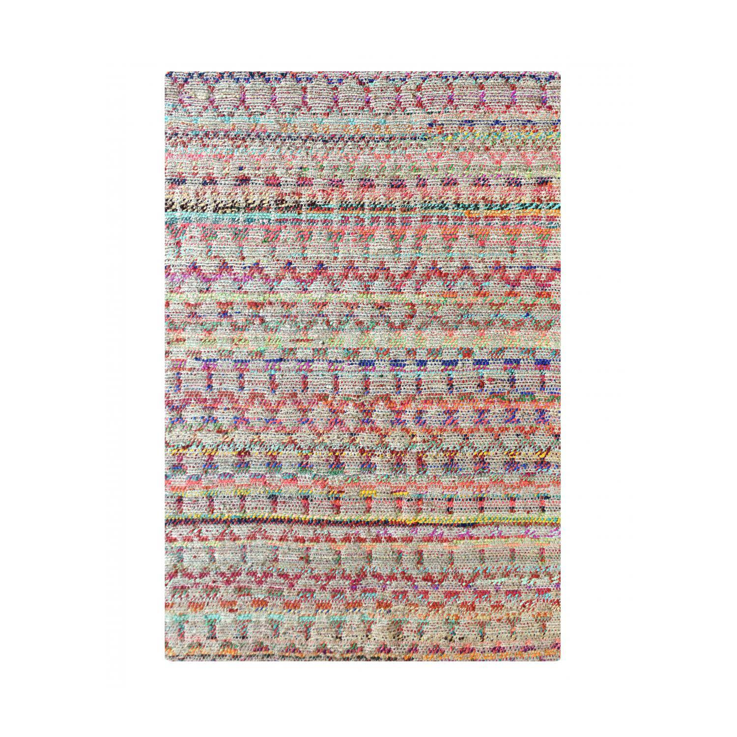 The Rug Republic Tapis  en chanvre multicolore 160 x 230