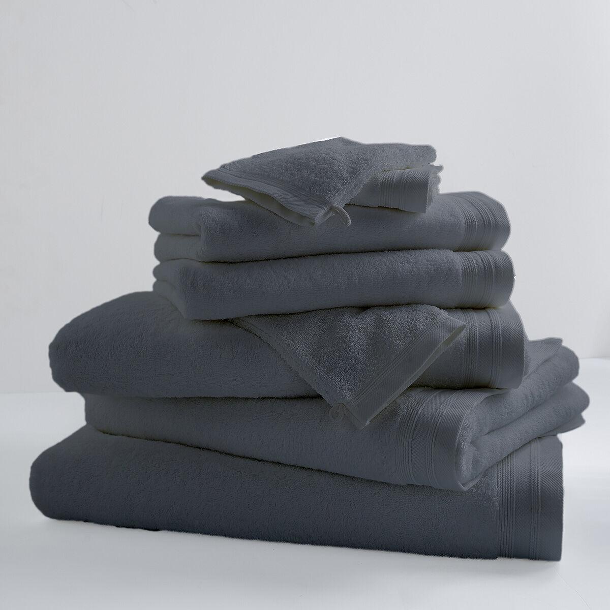 Home Bain Drap de bain uni et coloré coton reglisse 150x100