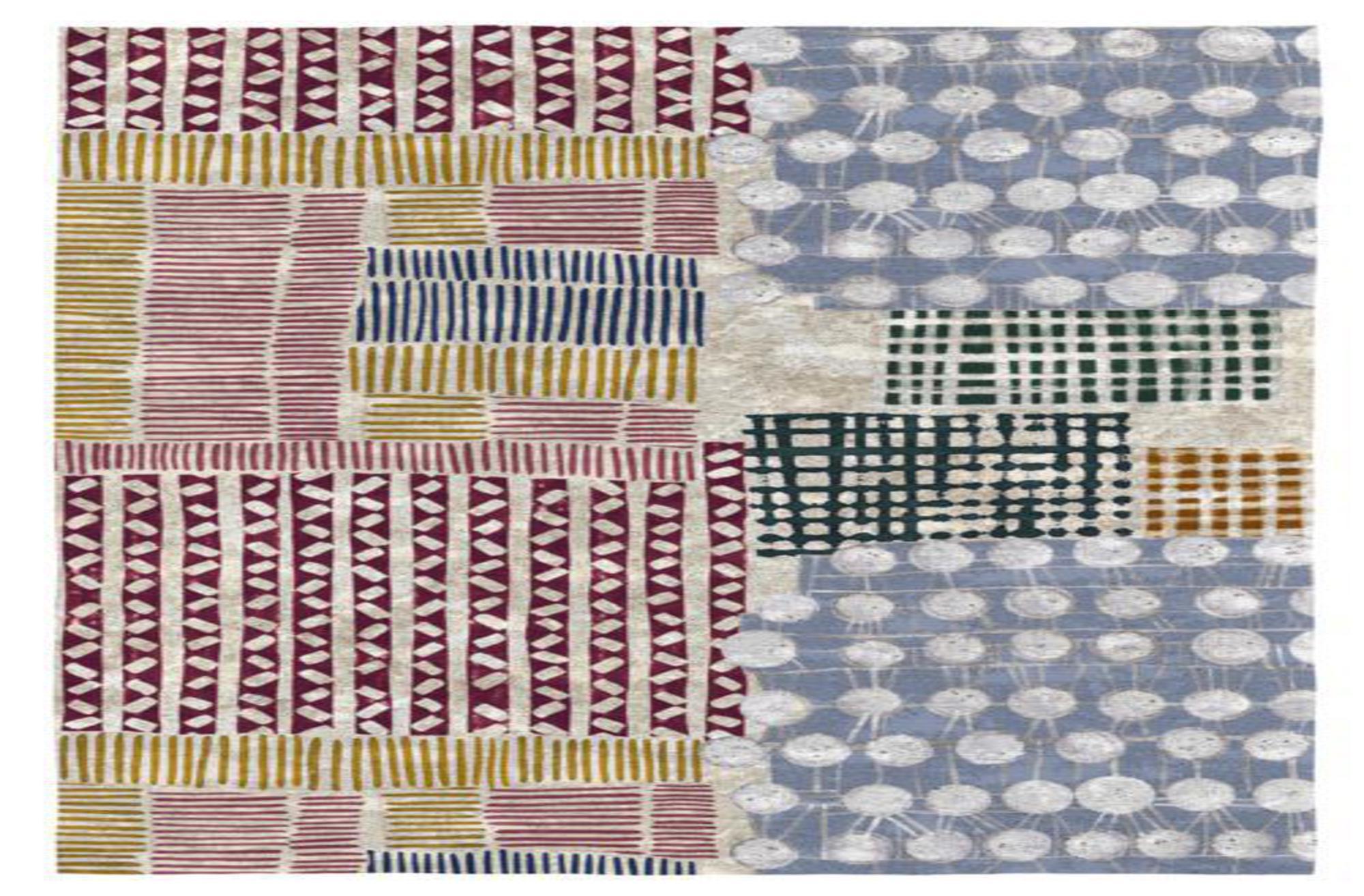 Rodier Tapis décoratif en coton en impression numérique 80x150