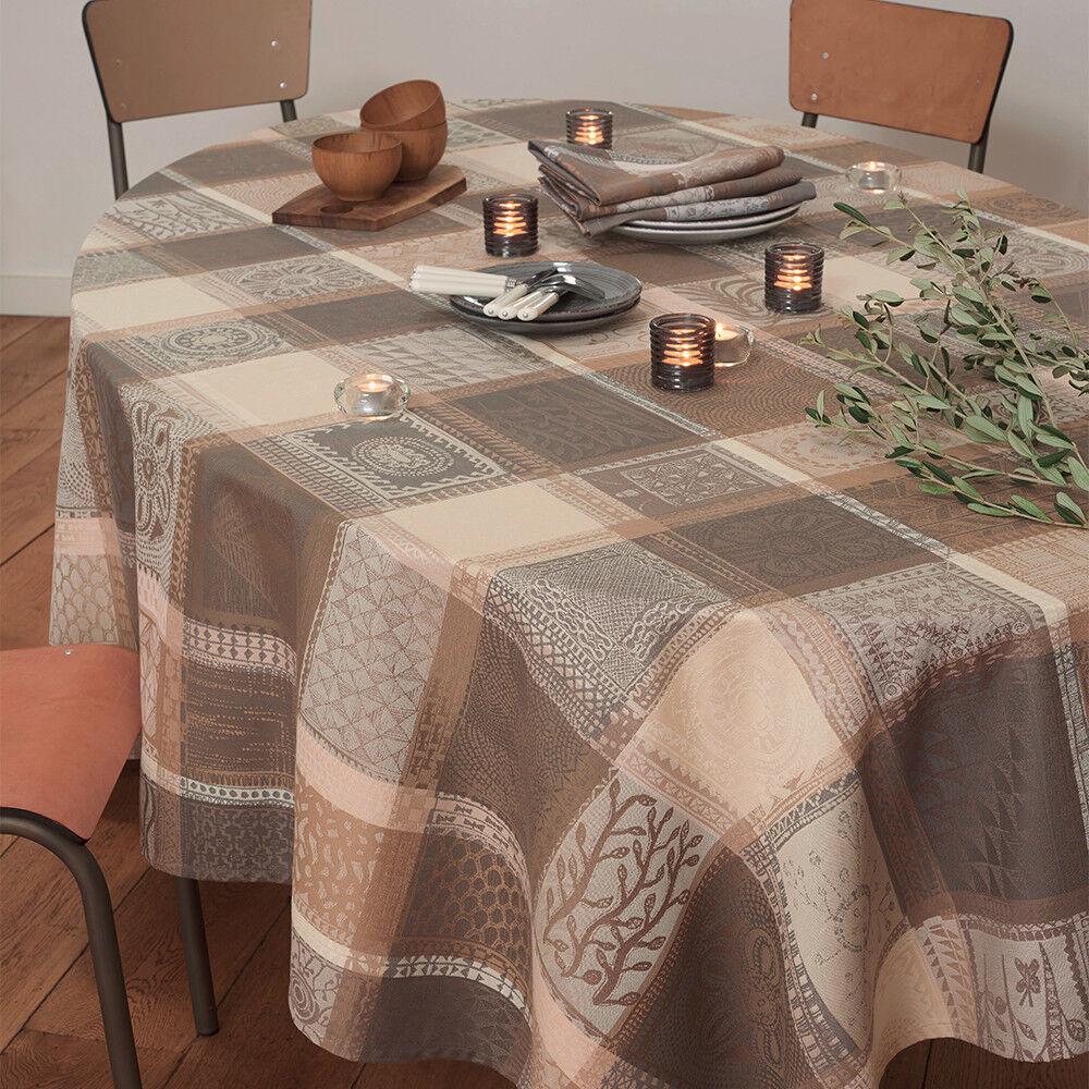 Garnier Thiebaut Nappe carrée  pur coton  115x115