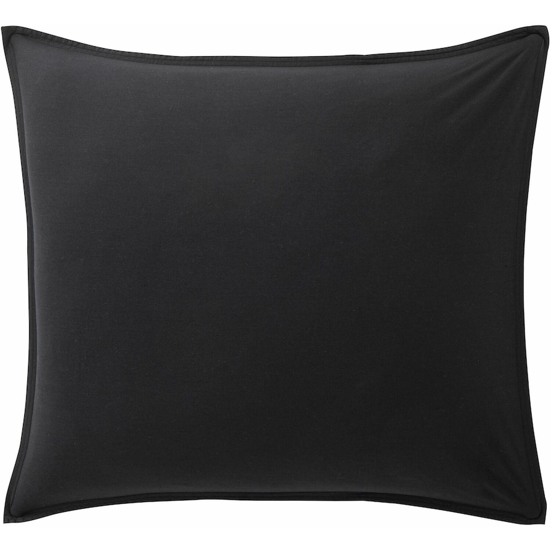 Baton Rouge Taie d'oreiller  coton noir 65x65 cm