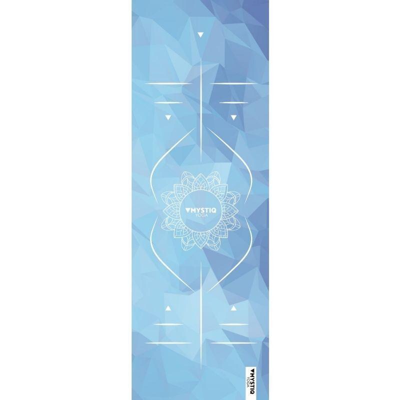 Mystiq Yoga Tapis de yoga voyage mandalign bleu