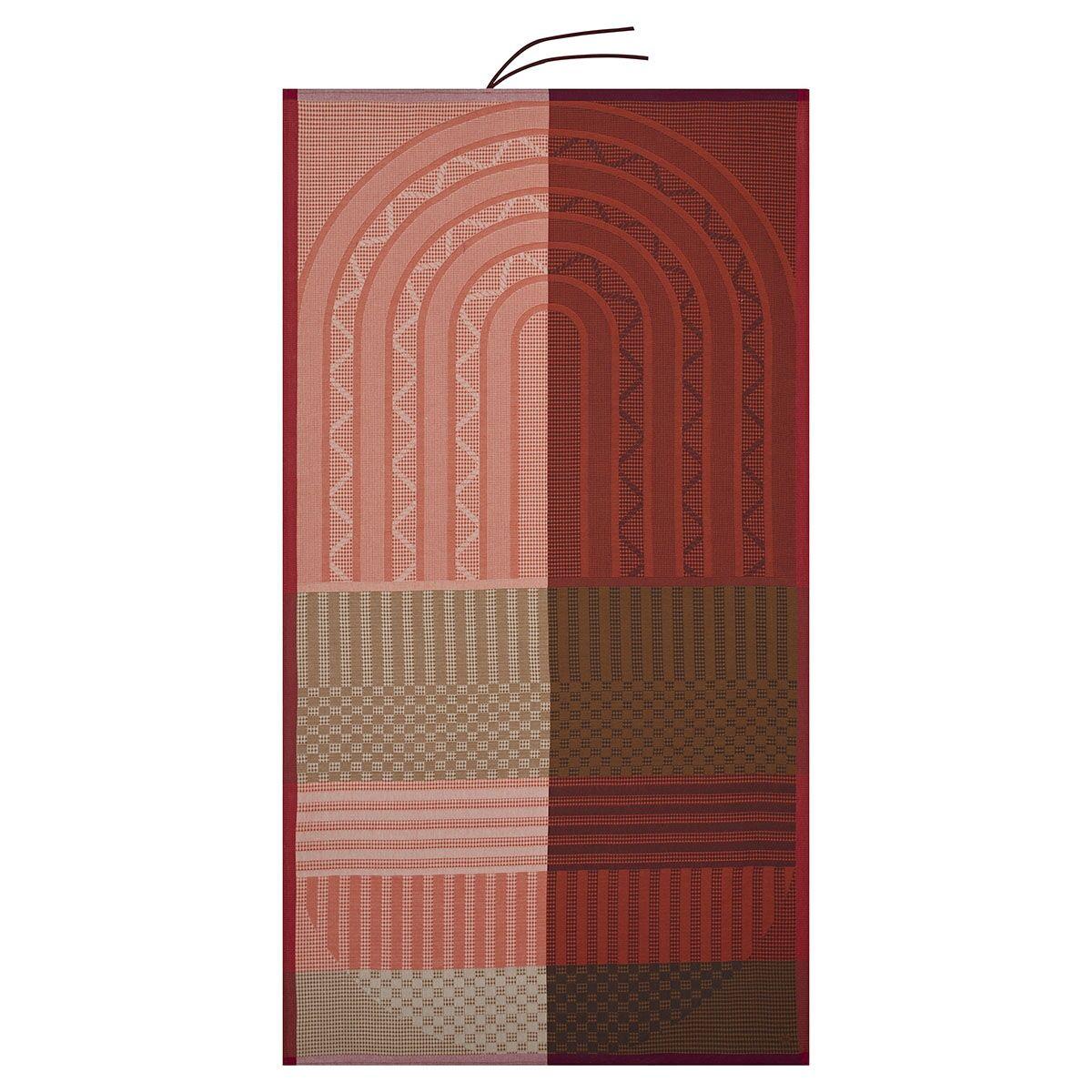 Le Jacquard Franais Drap de plage en coton animal 100 x 200
