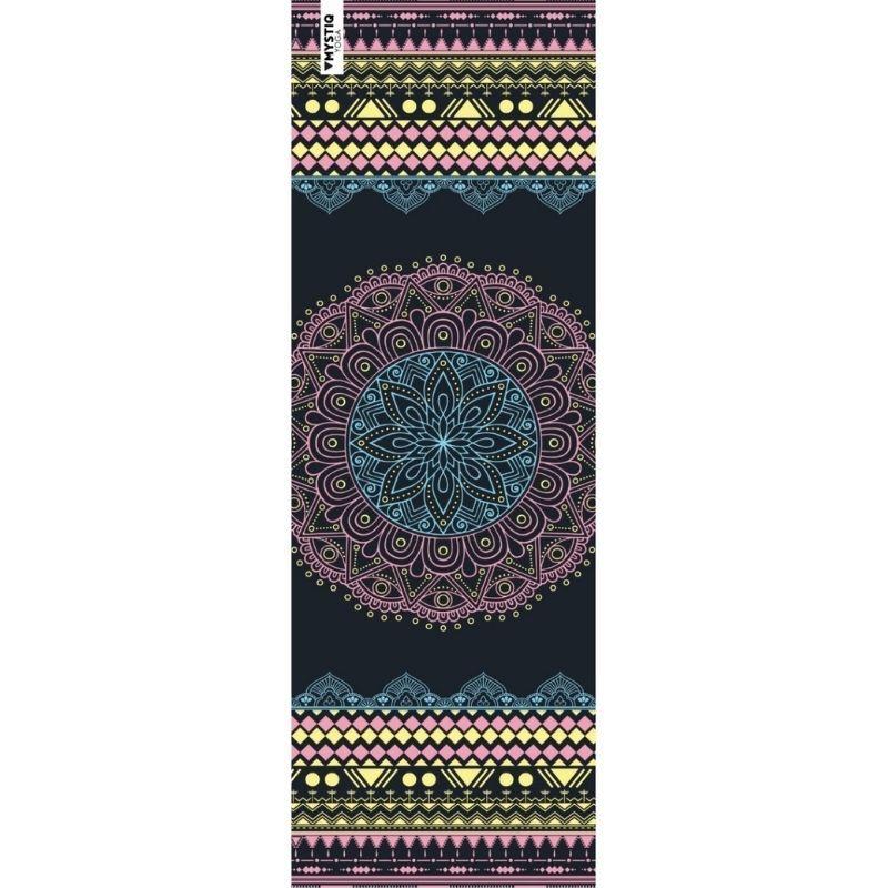 Mystiq Yoga Tapis de yoga voyage mandalife multicolore