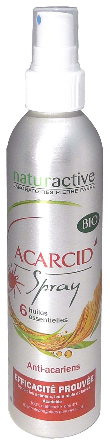 Naturactive acarcid' spray bio 200ml