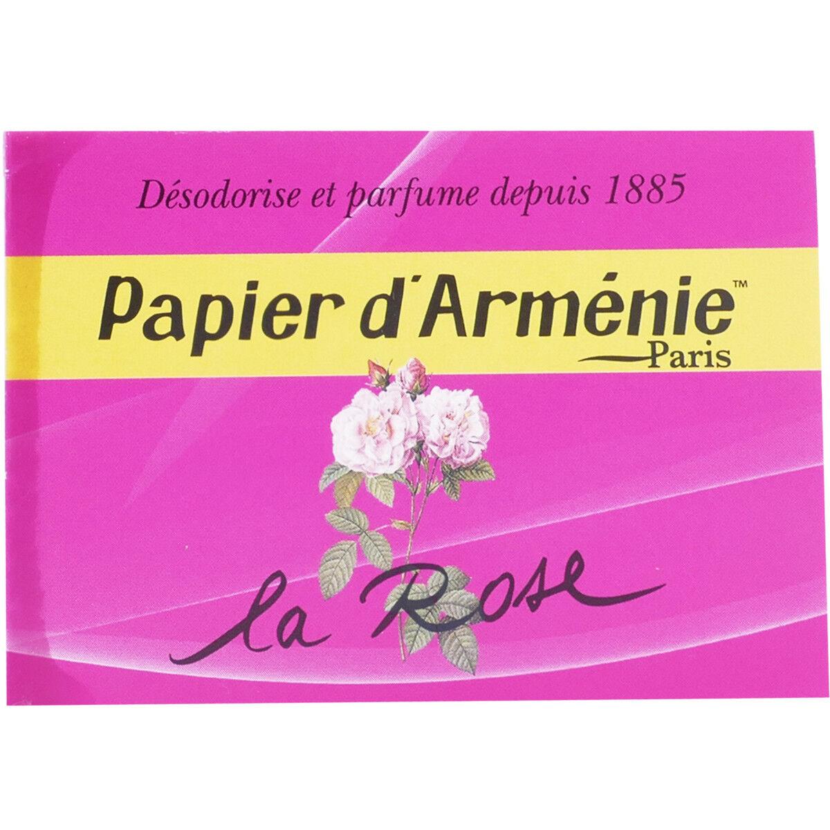 PHARM UP Papier d'armÉnie la rose