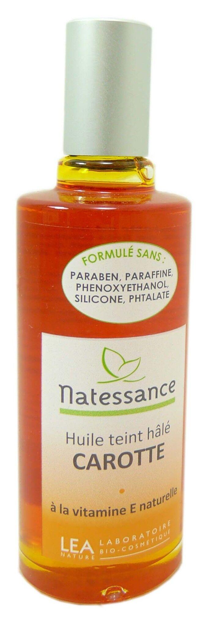 Natessance huile de carotte 50ml