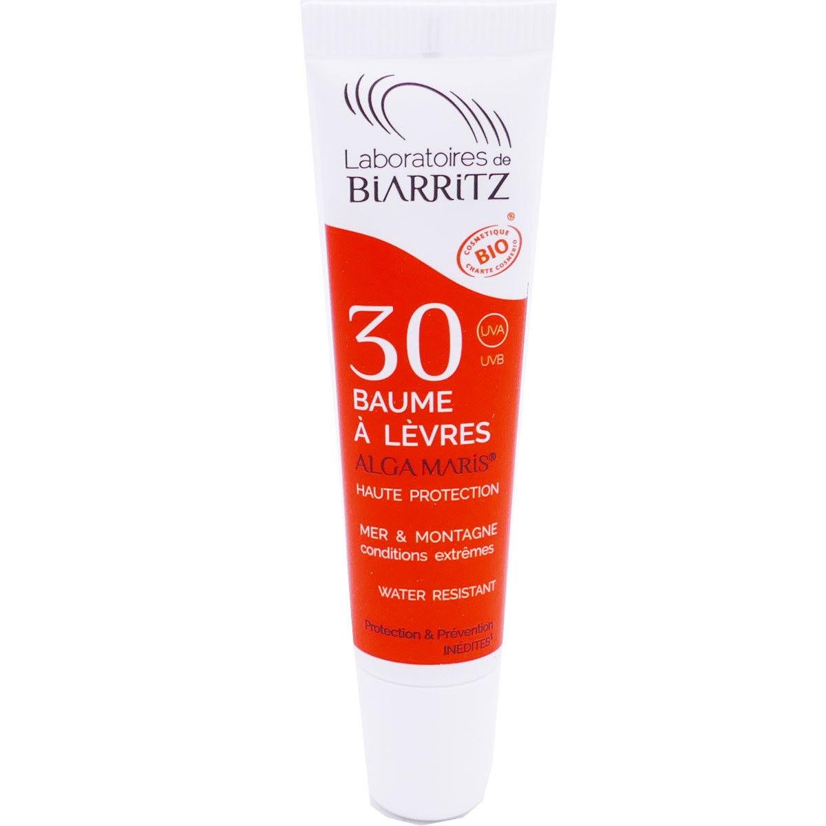 Biarritz baume a levres 30 alga maris 15ml bio