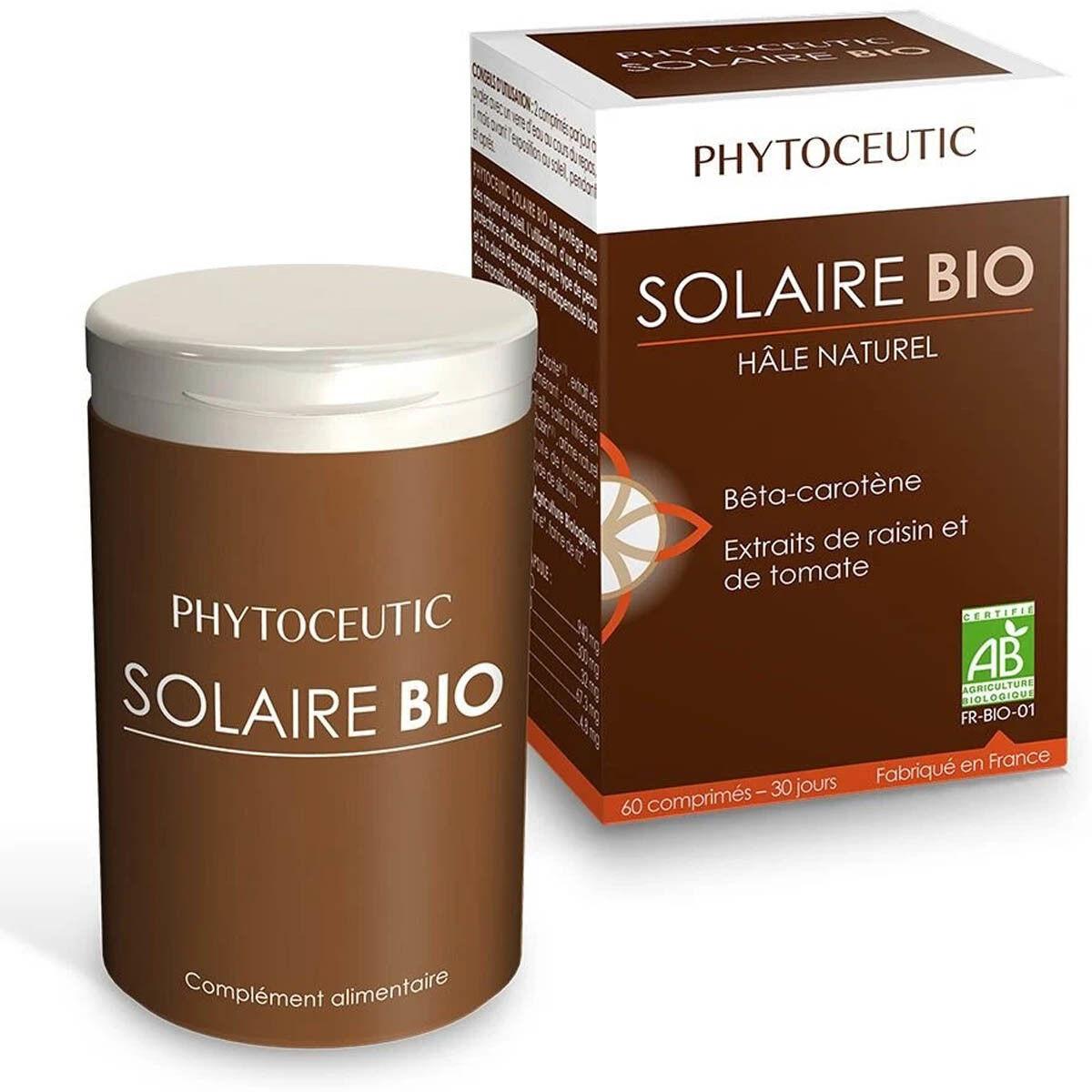 Phytoceutic solaire bio hale naturel 60 comprimes