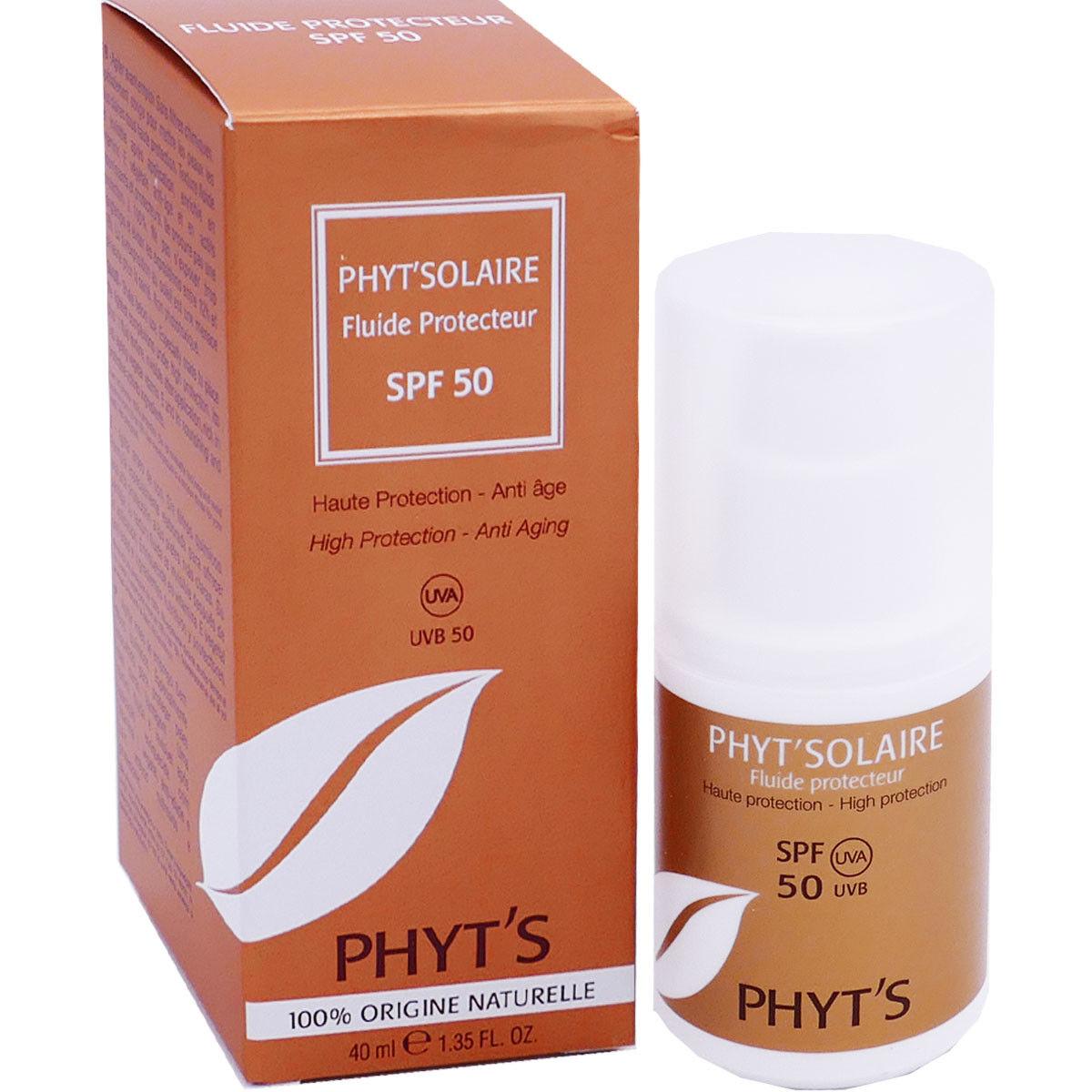 Phyt's solaire fluide protecteur spf50 40 ml