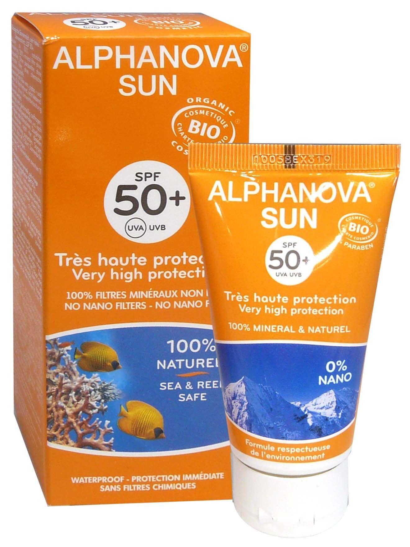 Alphanova sun bio spf50+ 50g