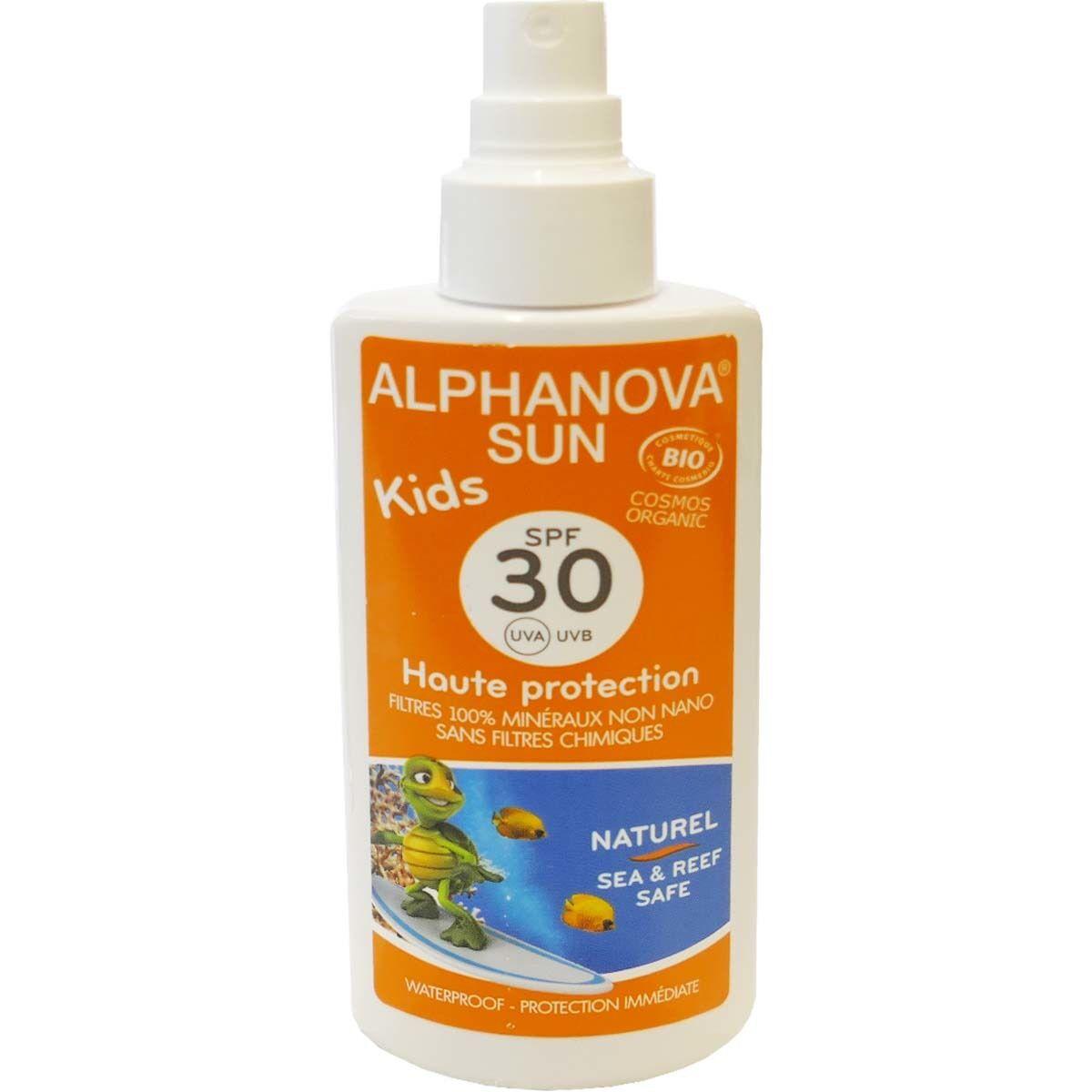 Alphanova sun kids spf 30 naturel bio
