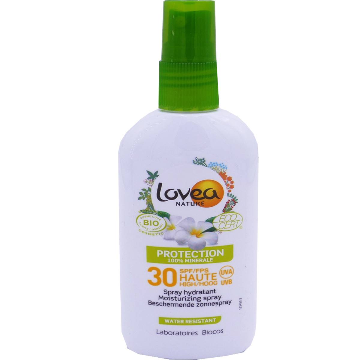 Lovea protection spf 30 bio water resistant