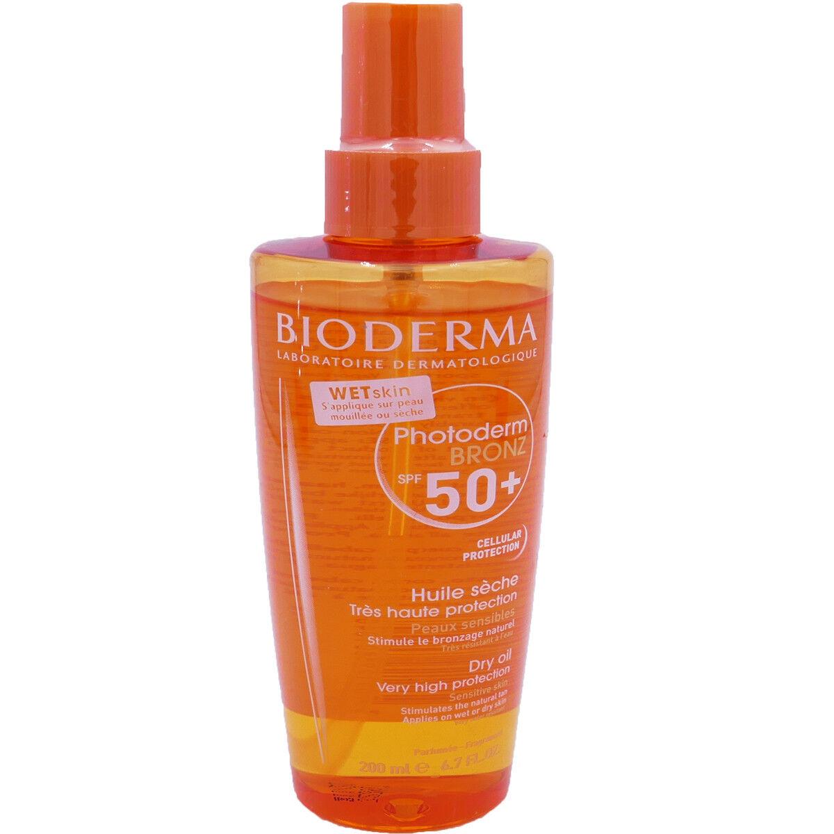 Bioderma photoderm bronz spf 50+ huile seche 200 ml
