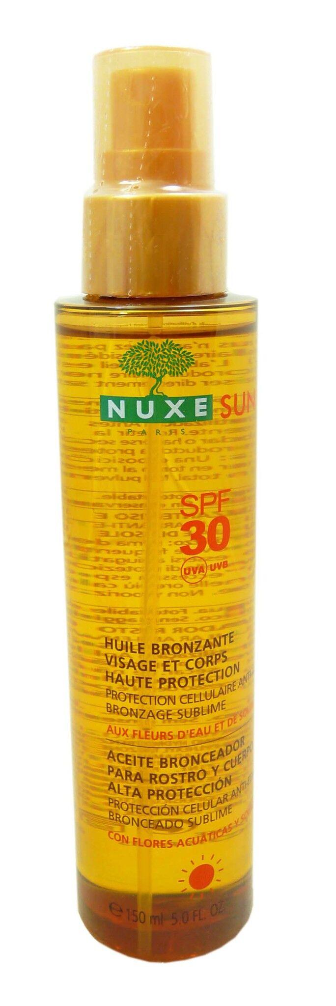 Nuxe sun spf30 huile brozante 150ml