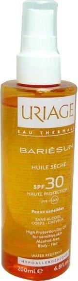 Uriage bariesun huile seche spf 30+ 200ml