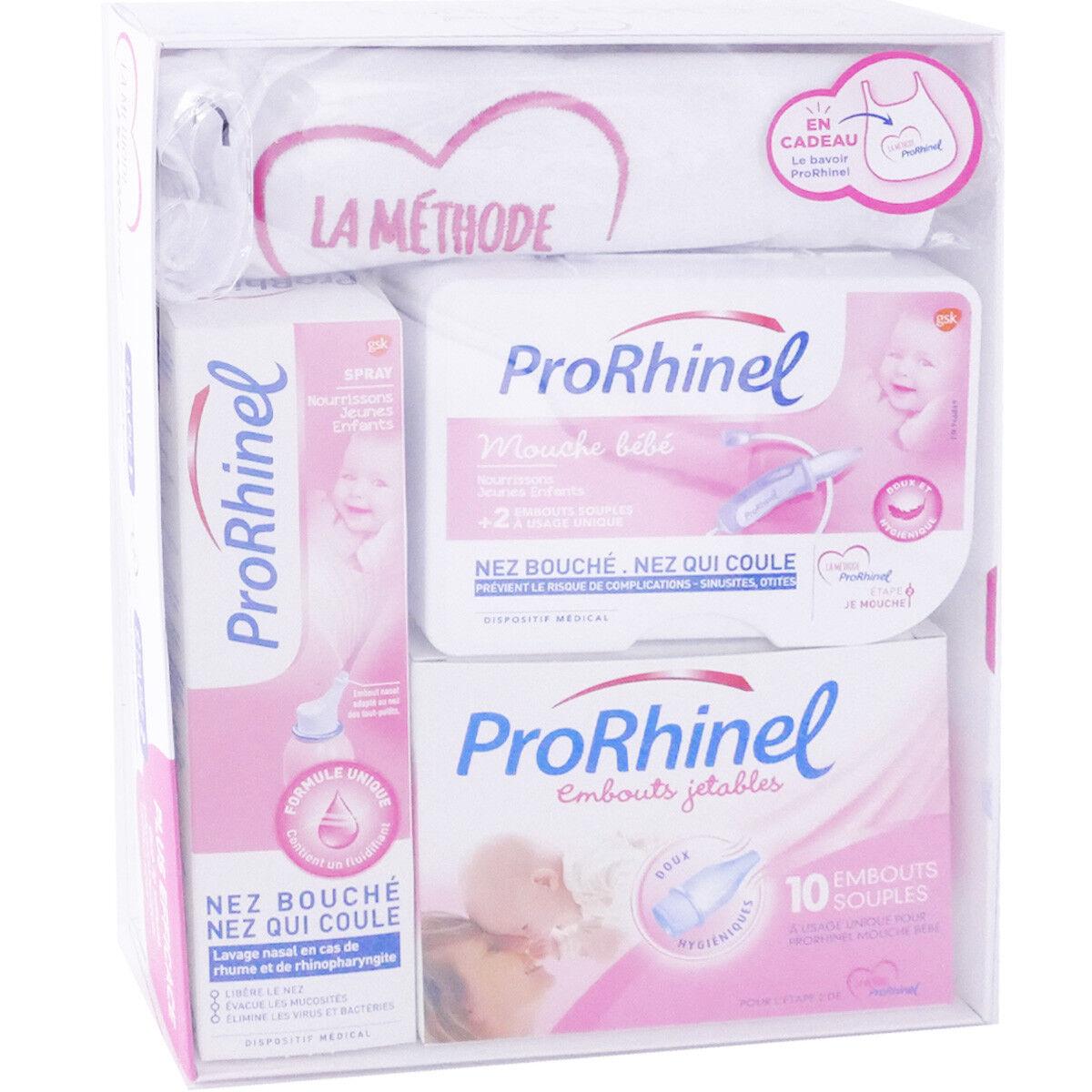 GSK Prorhinel coffret 3 soins + 1 bavoir offert