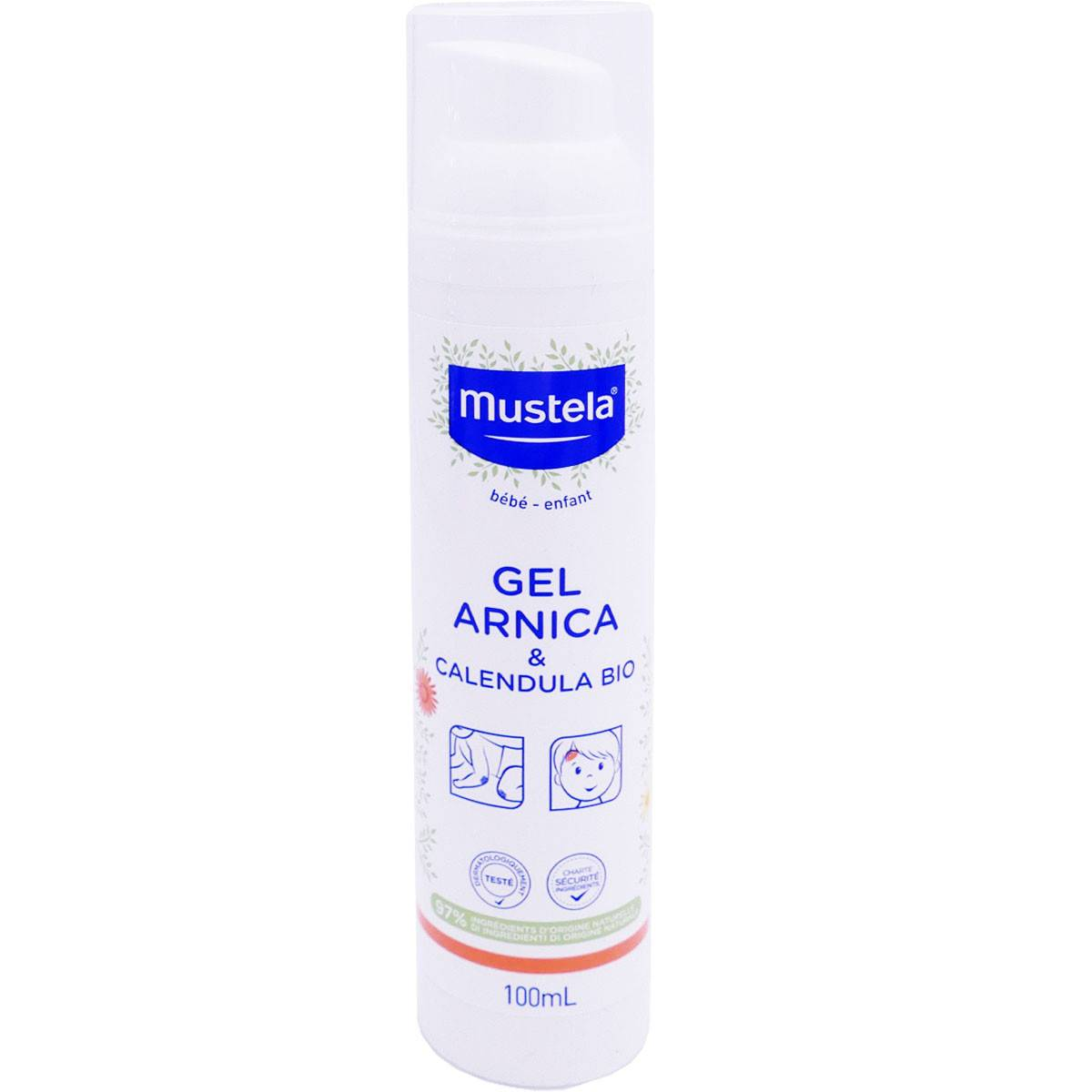 Mustela gel arnica & calendula bio 100 ml