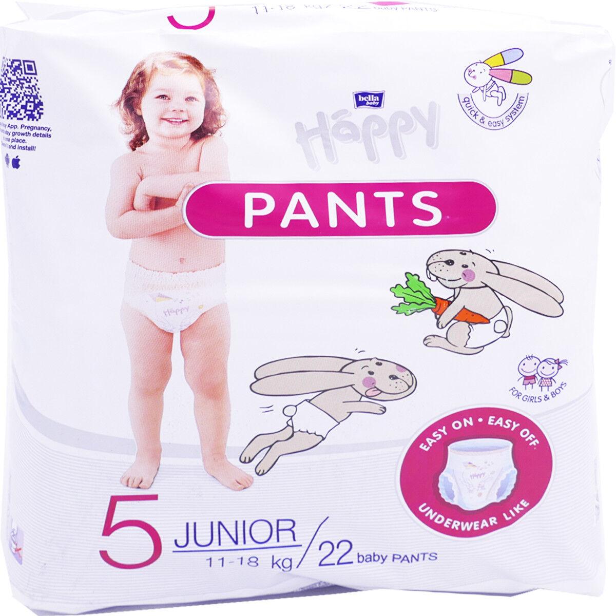 TETRA MEDICAL Happy pants 22 couches culottes 5 juniors 11-18kg