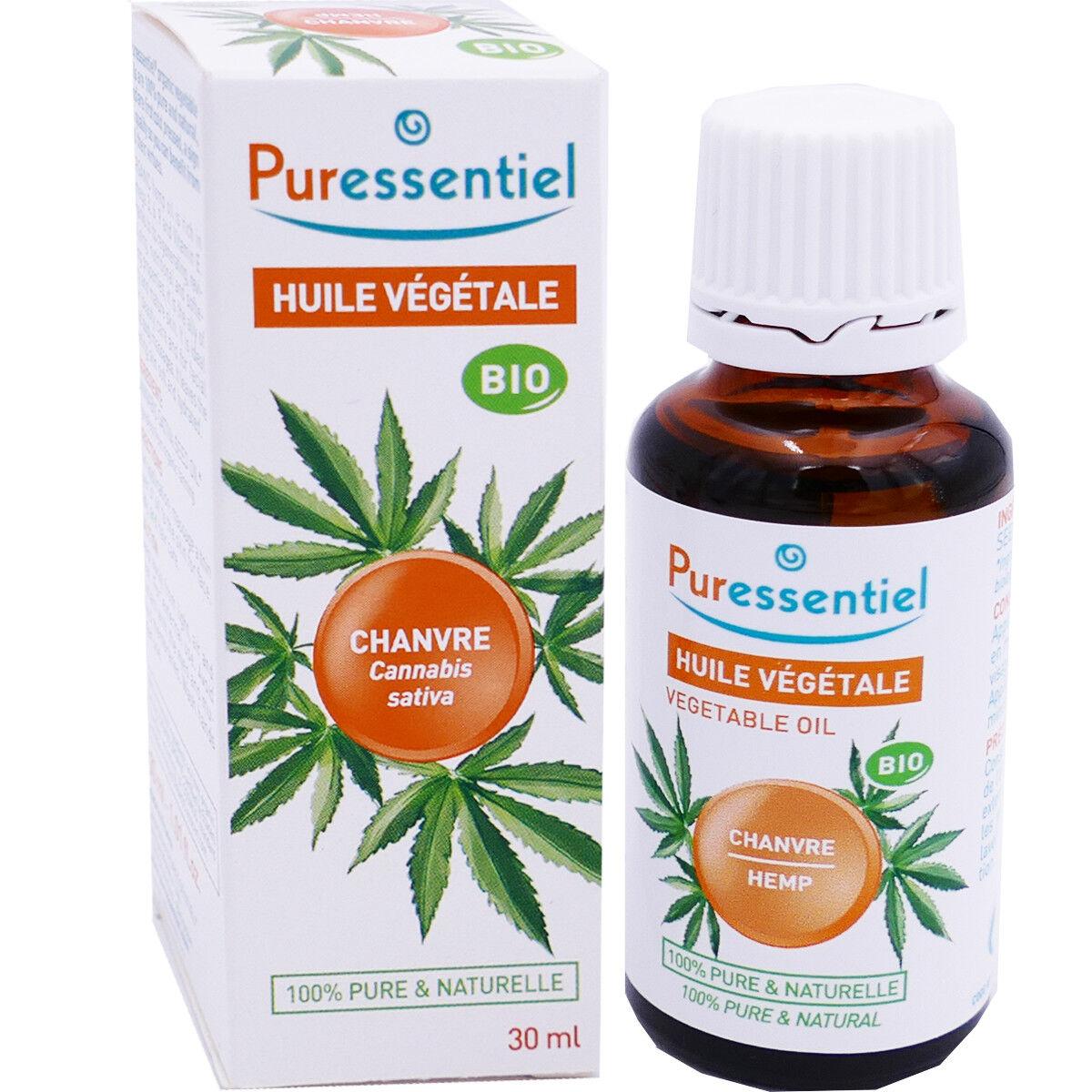 Puressentiel huile vÉgÉtale bio chanvre 30 ml