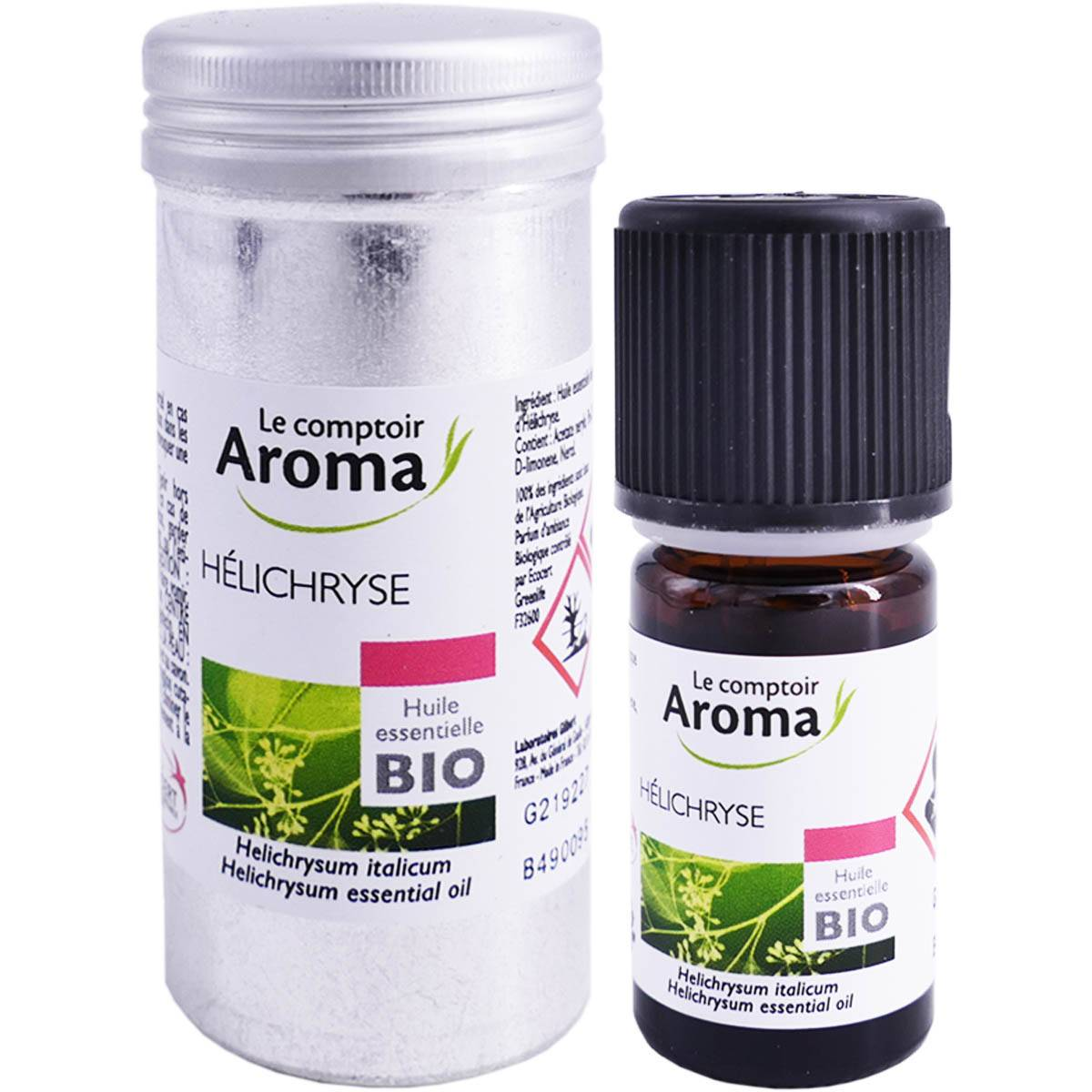 Le comptoir aroma huile essentielle helichryse bio 5ml