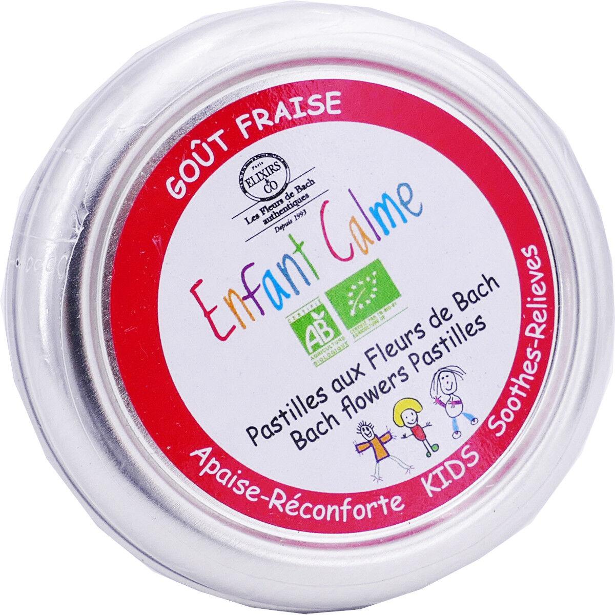 ELIXIRS & CO Elixirs pastilles sucre gout fraise fleursz de bach 45g