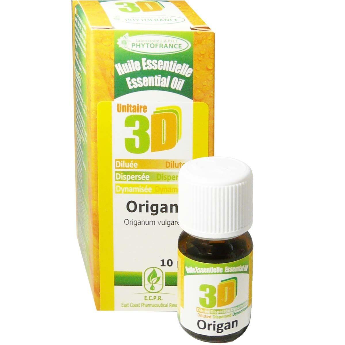 Phytofrance huile essentielle origan 10ml