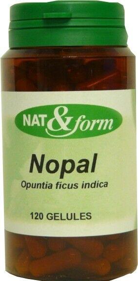 Nat & form nopal 120 gelules