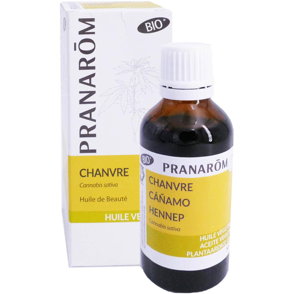 Pranarom huile vegetale bio chanvre 50ml