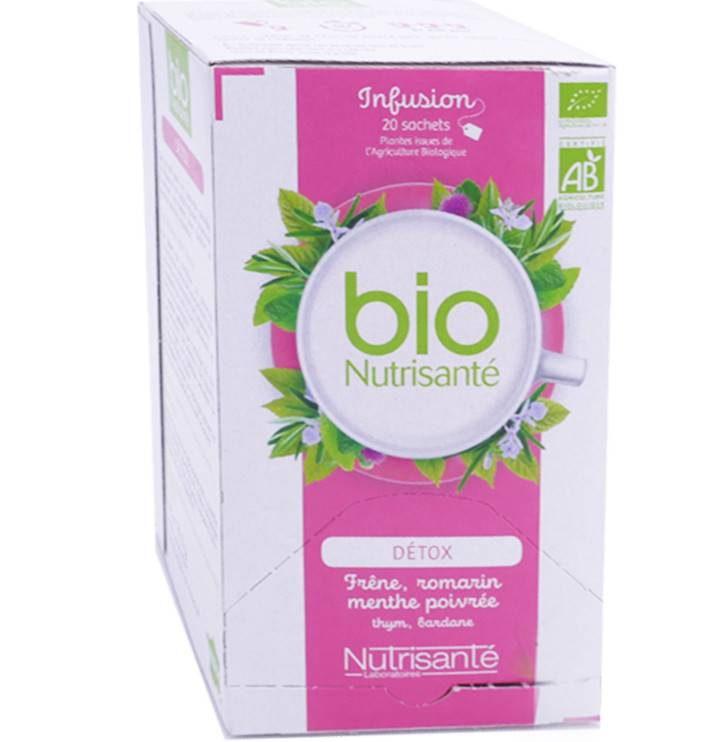 Nutrisante bio infusion detox 20 sachets