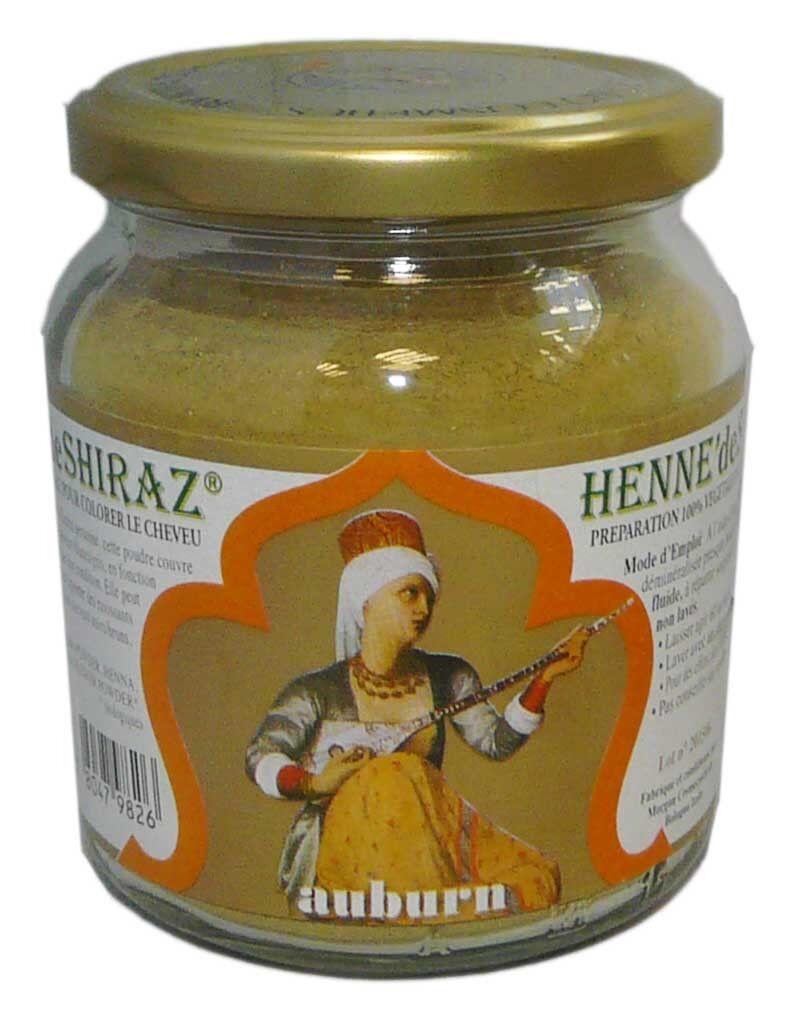 Beliflor henne de shiraz auburn 150g