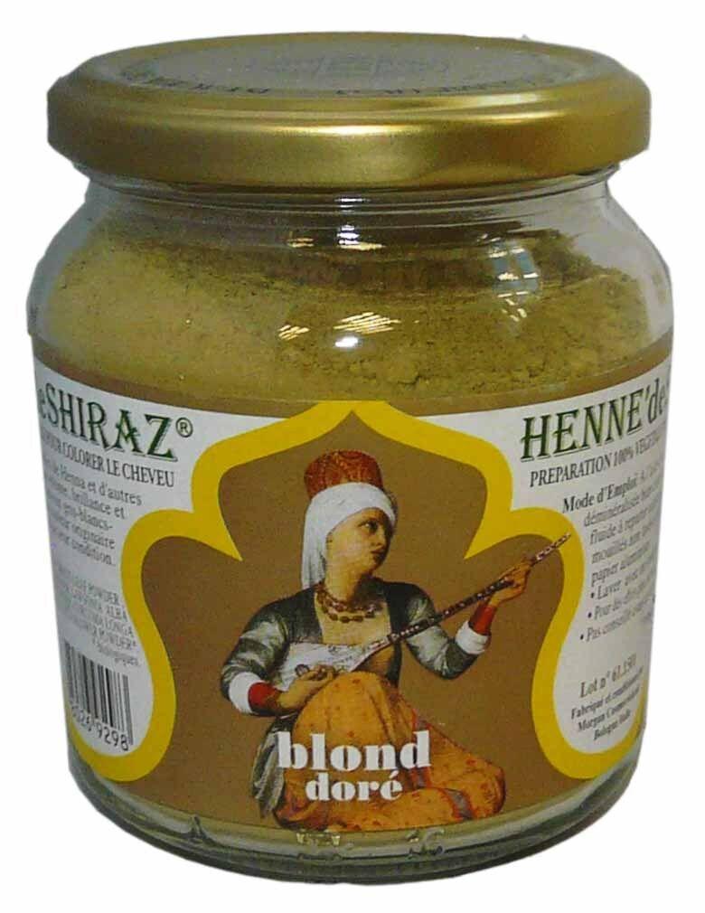 Beliflor henne de shiraz blond dore 150g