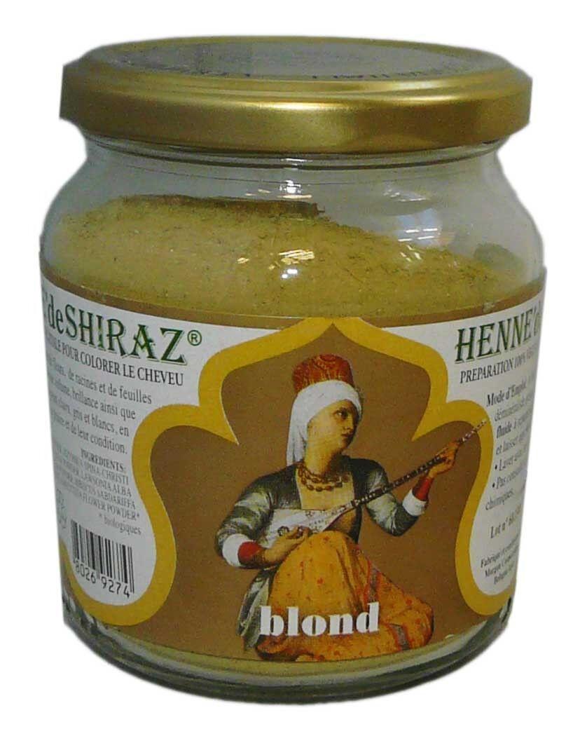Beliflor henne de shiraz blond 150g
