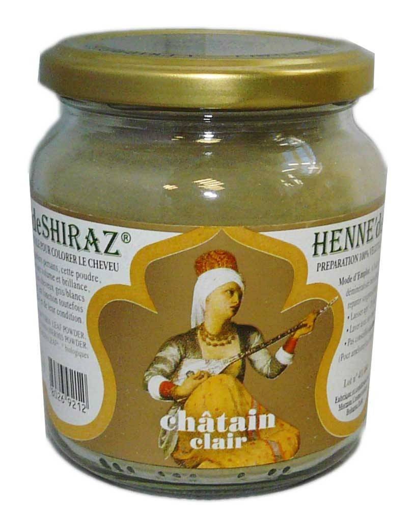 Beliflor henne de shiraz chatain clair 150g