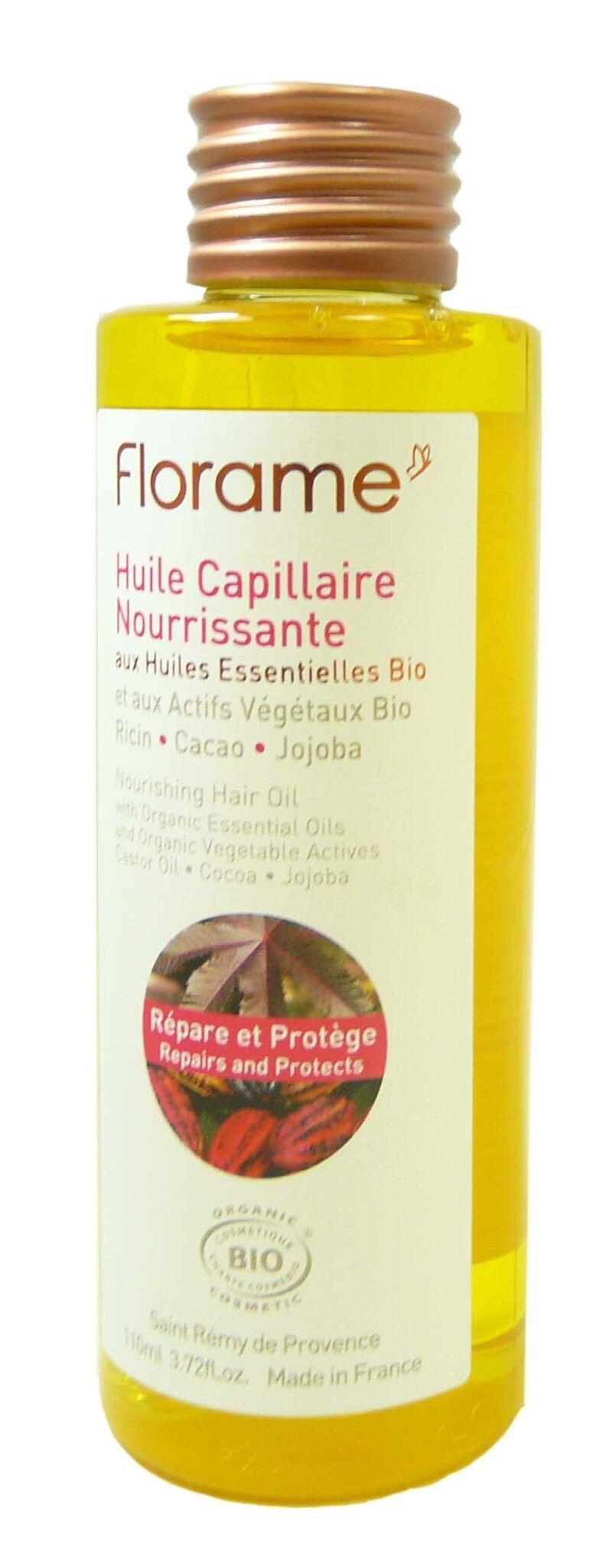 Florame huile capillaire nourrissante 110ml